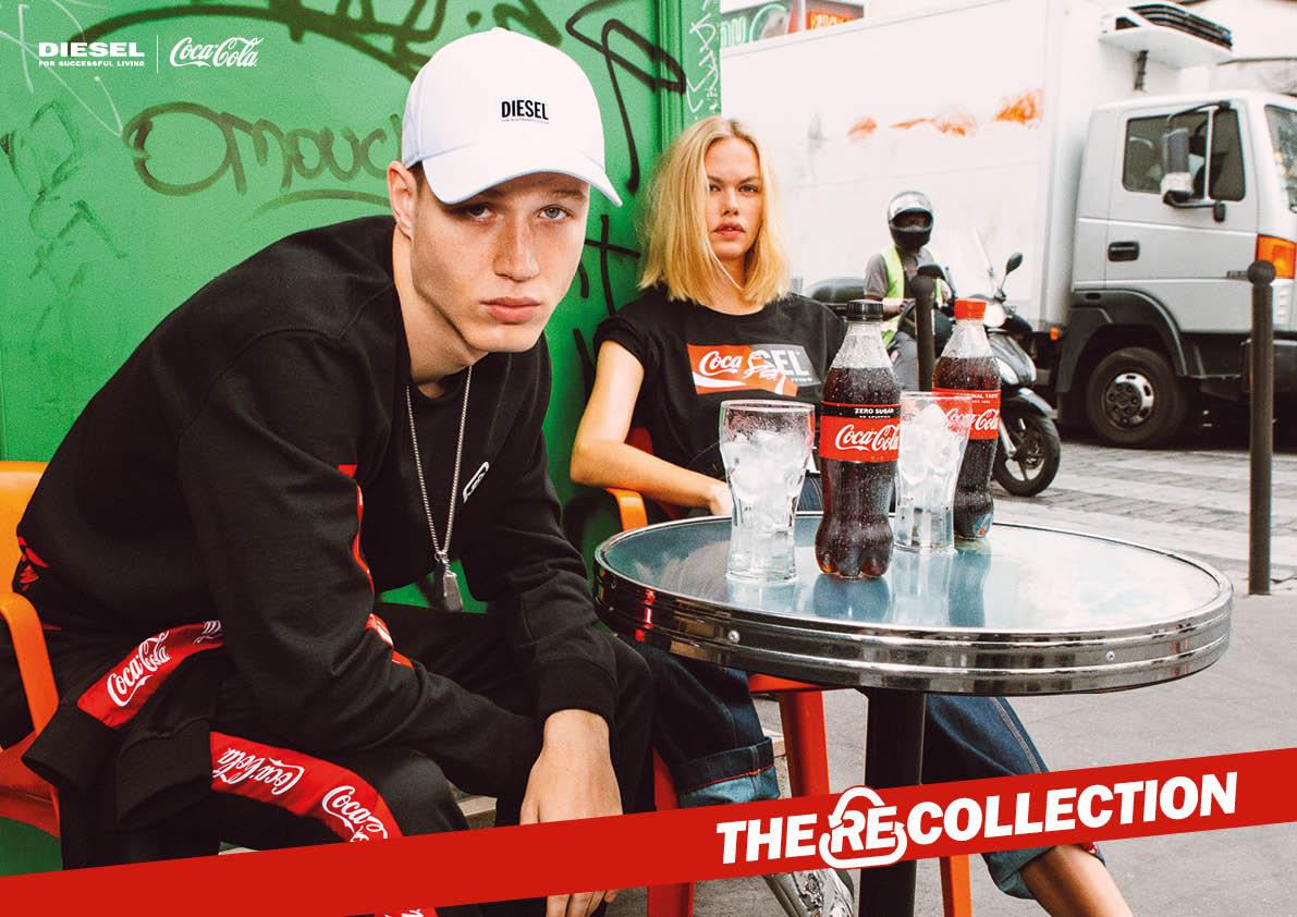DIESEL×Coca-Cola、リサイクルへの意識を高めるコレクション
