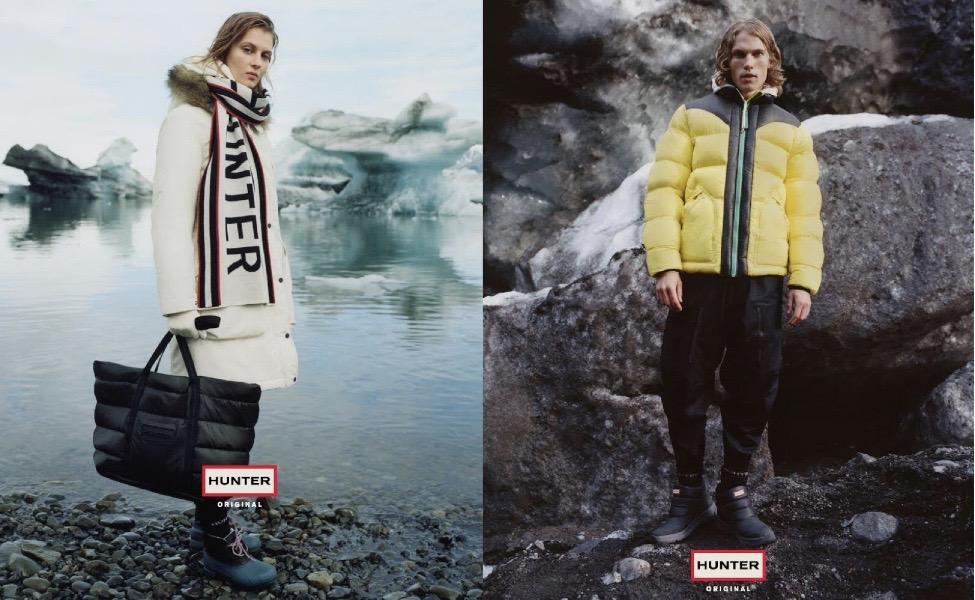 HUNTER2019秋冬コレクションのルックを公開