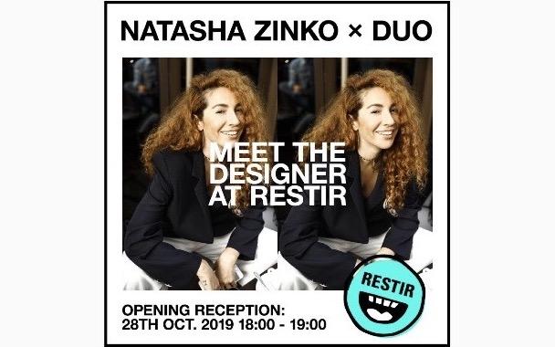 デザイナーらも来日、 Natasha Zinko xDUO