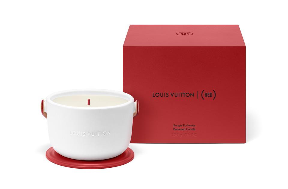 エイズ撲滅運動サポート「Louis Vuitton I (RED)」パフュームド キャンドル