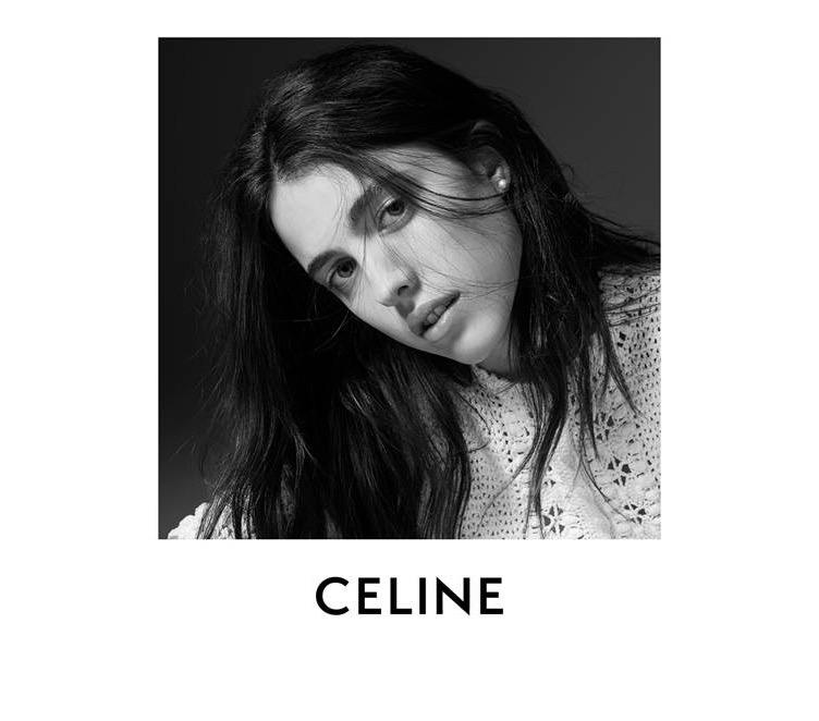 CELINE、新キャンペーンに米女優マーガレット・クアリー起用