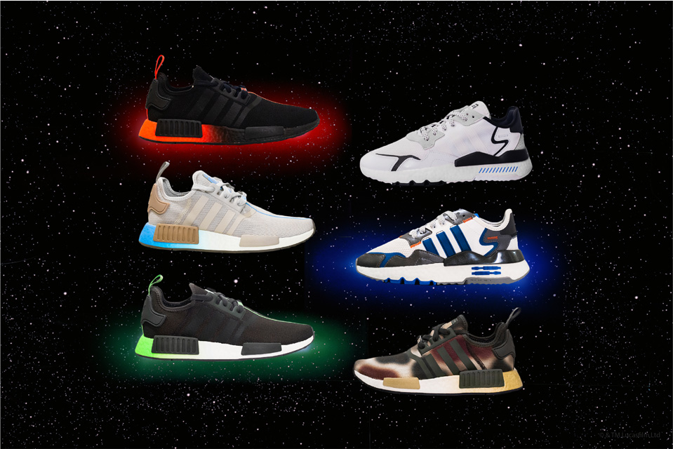 adidas Originals、STAR WARSコレクション第3弾発売 6モデルでキャラクター表現