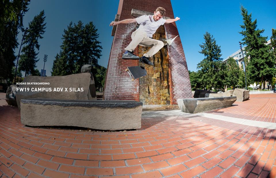 adidas Skateboarding、サイラス・バクスターニール新モデル「CAMPUS」発売