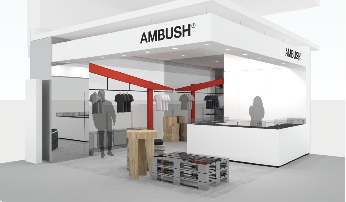 AMBUSH®が渋谷PARCOに新ショップ 新レーベルも発表