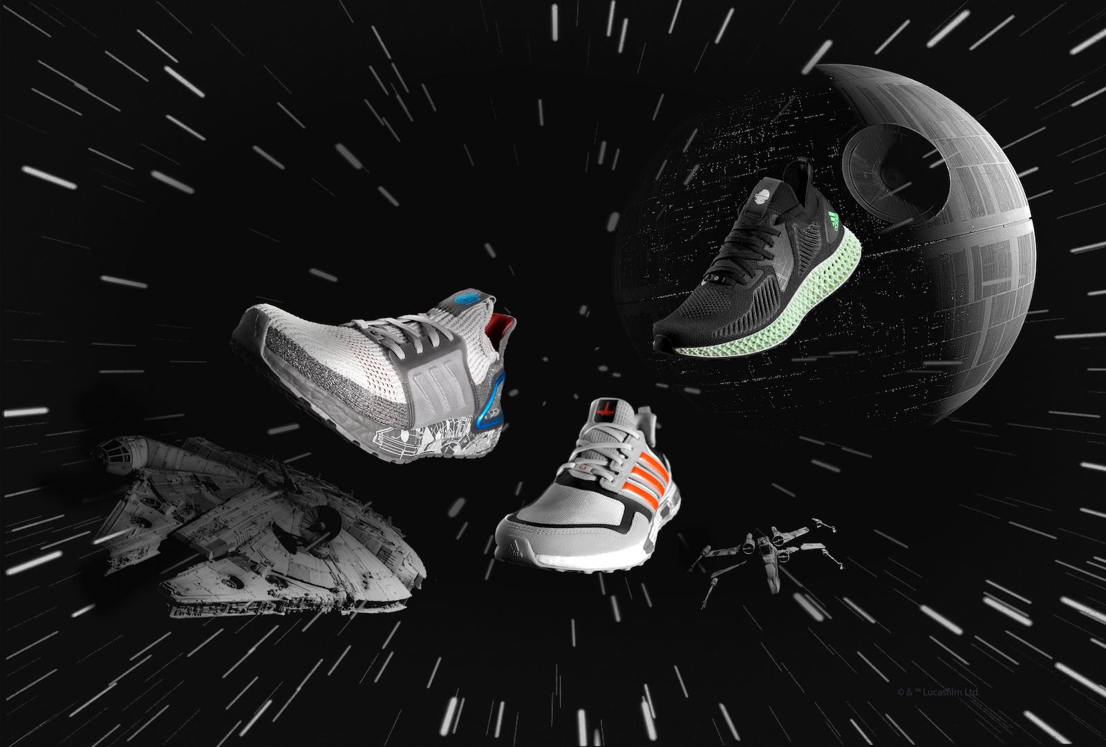 adidas×STAR WARS、コラボ第2弾が発売