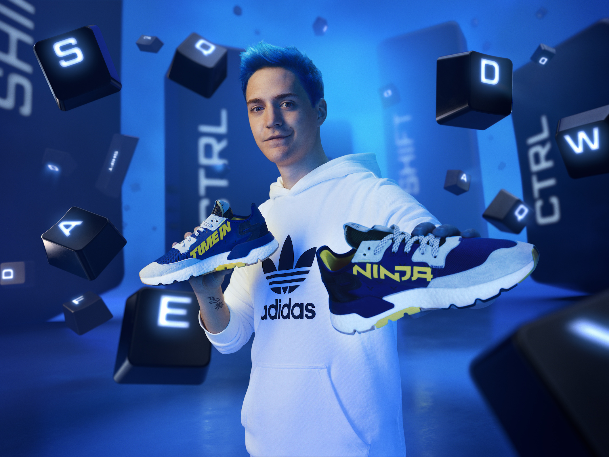 adidas、人気ゲーマーNinjaとのコラボシューズ発売