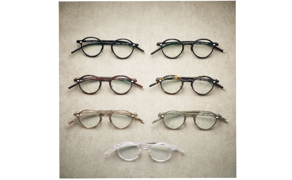 10 eyevan、新パーツとセルロイドで作り上げるコレクション発売