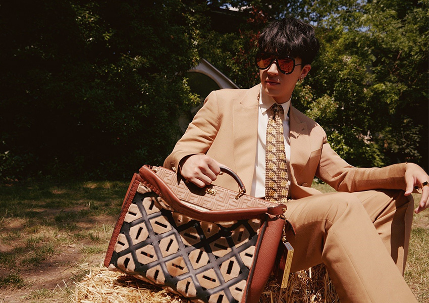 FENDI、ボタニカルな雰囲気漂う新型バッグ4型を発売