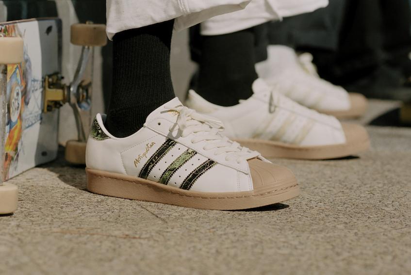 adidas、NYスケートブランドと組み「Superstar」新モデル発売