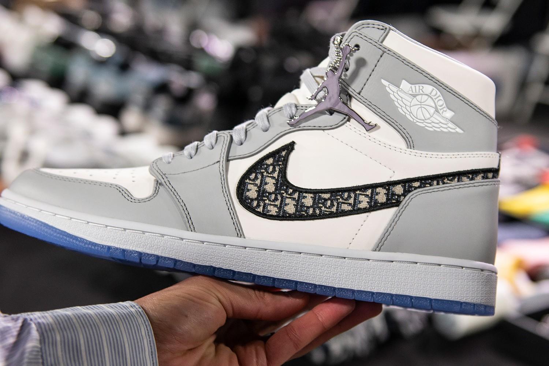 Nikeと Diorによる、最高級のAir Jordan 1について