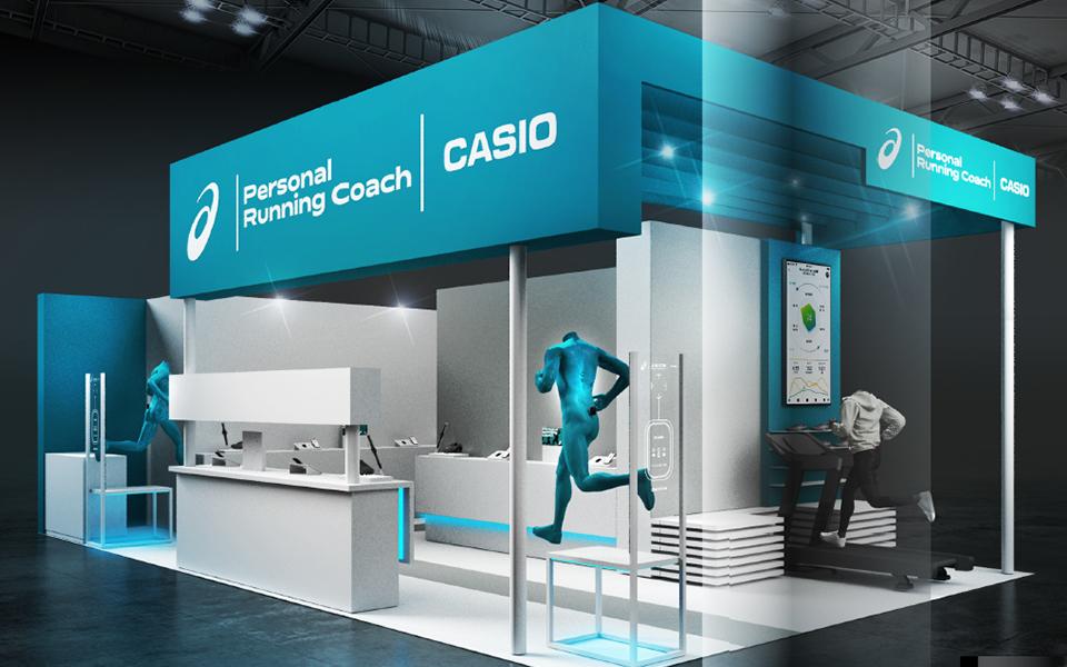 ASICSとカシオ共同開発、ランナー向けサービスコンテンツ公開