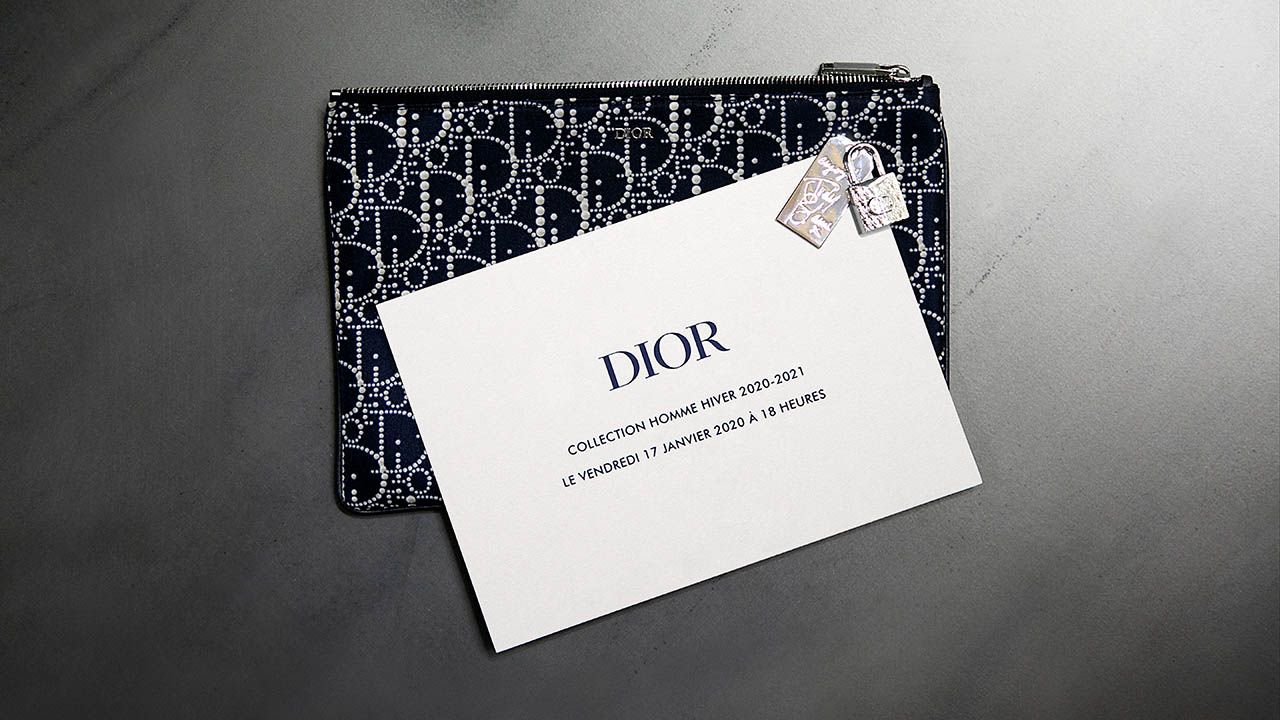 【LIVE配信】DIOR WINTER 2020-2021 MEN'S COLLECTION