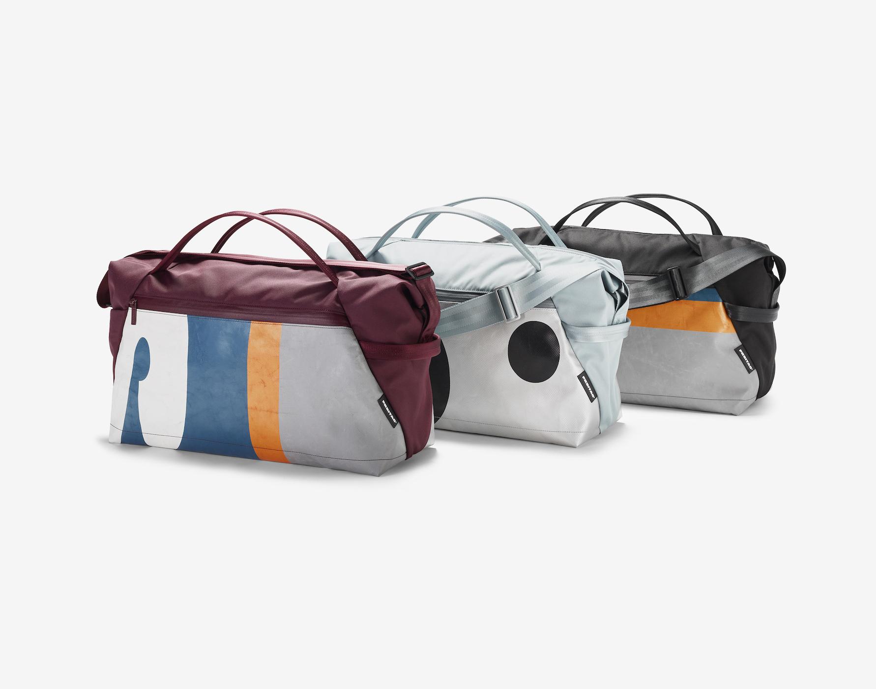 FREITAGからペットボトル再利用・新スポーツバッグ発売
