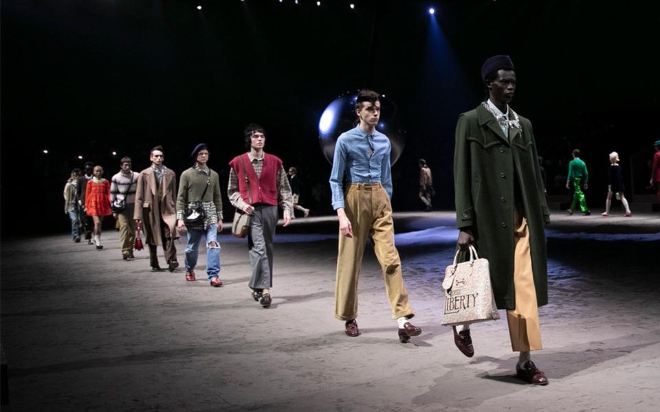 GUCCI、ミラノ・メンズファッションウィークに復帰 2020年秋冬ショー開催