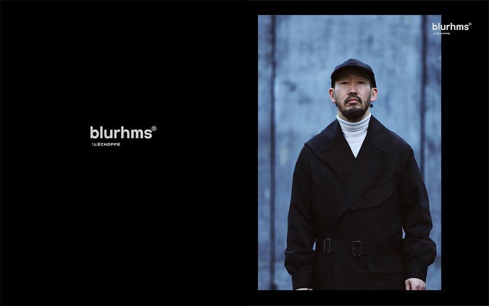 blurhms、L'ECHOPPE別注シリーズ「BLACK」発売