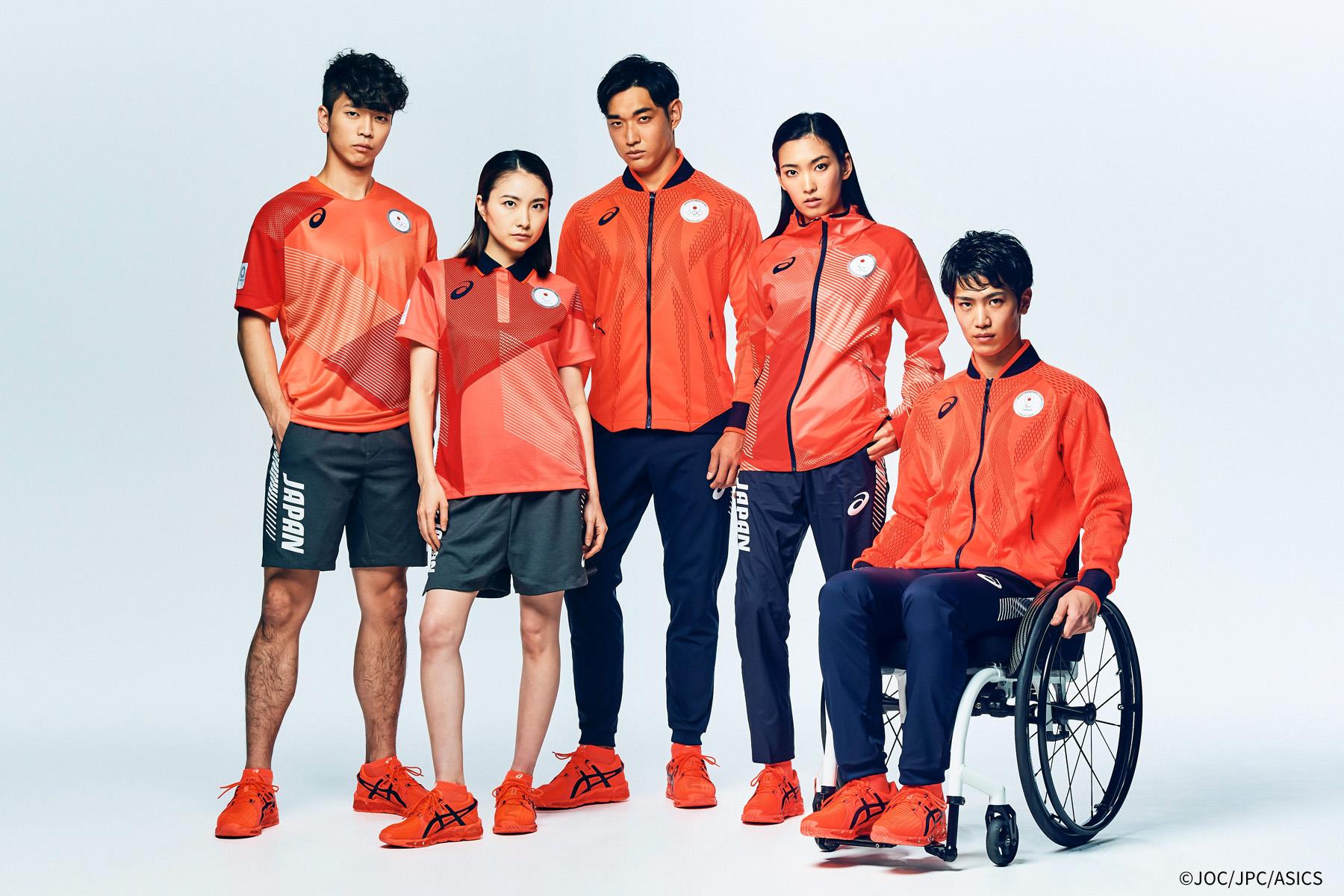 ASICS、オリンピックオフィシャルウェア レプリカ発売