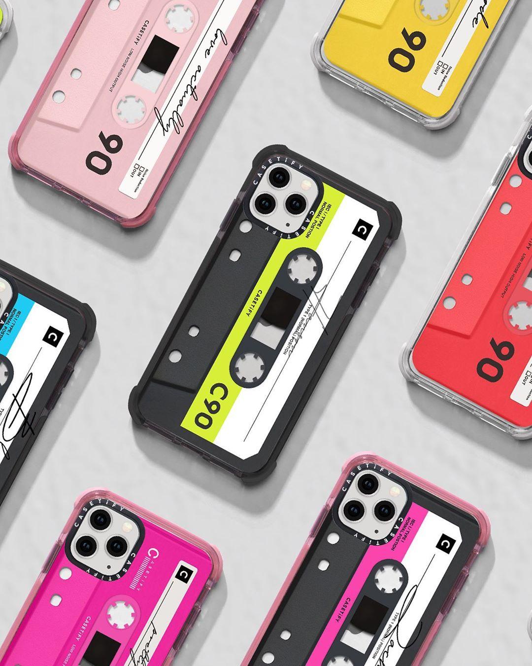 CASETiFY 、レトロなカセットテープ型スマホケース発売