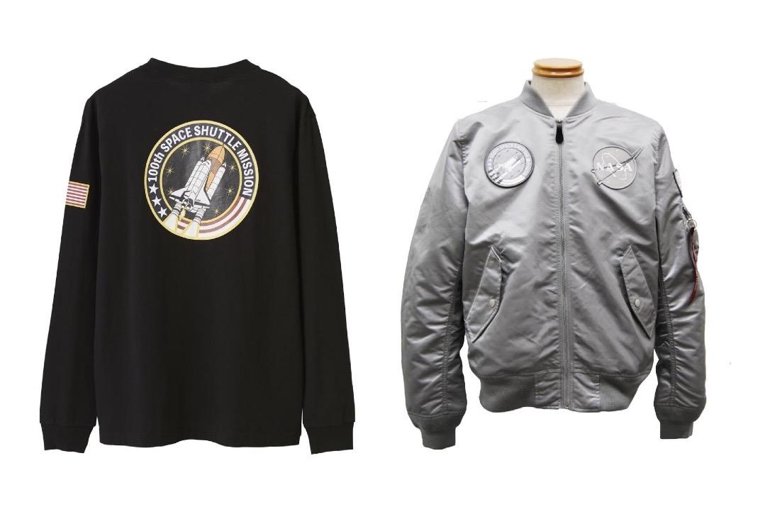 ミリタリーブランドALPHA INDUSTRIES、NASAとのコラボウェア発売
