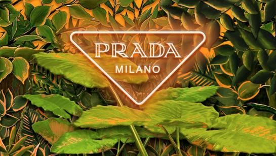 PRADA、2020年春夏コレクションを表現したインスタレーション