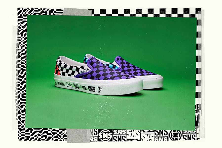 Sneakersnstuff、LAストア1周年祝したVANSコラボコレクション発売
