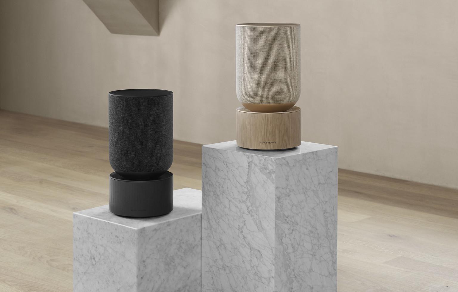 Bang & Olufsen、インテリアと調和するホームスピーカー発売