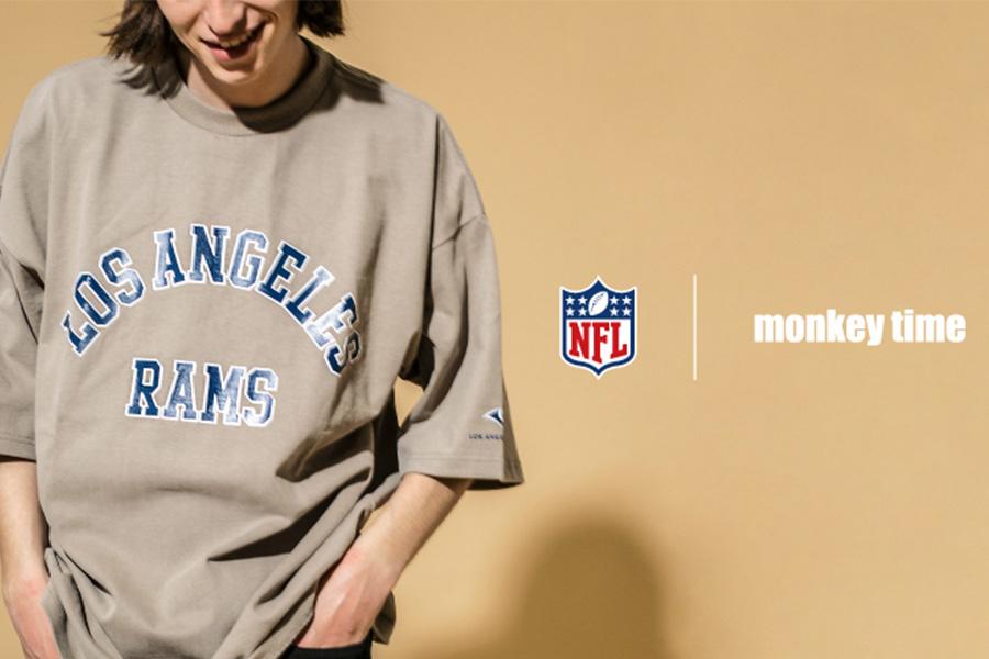 monkey time、米フットボールリーグに焦点当てた新作Tシャツ発売