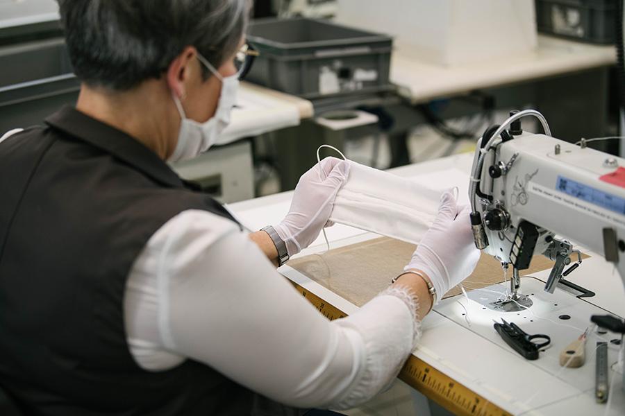Louis Vuitton、仏アトリエ転用し医療用マスクを製造