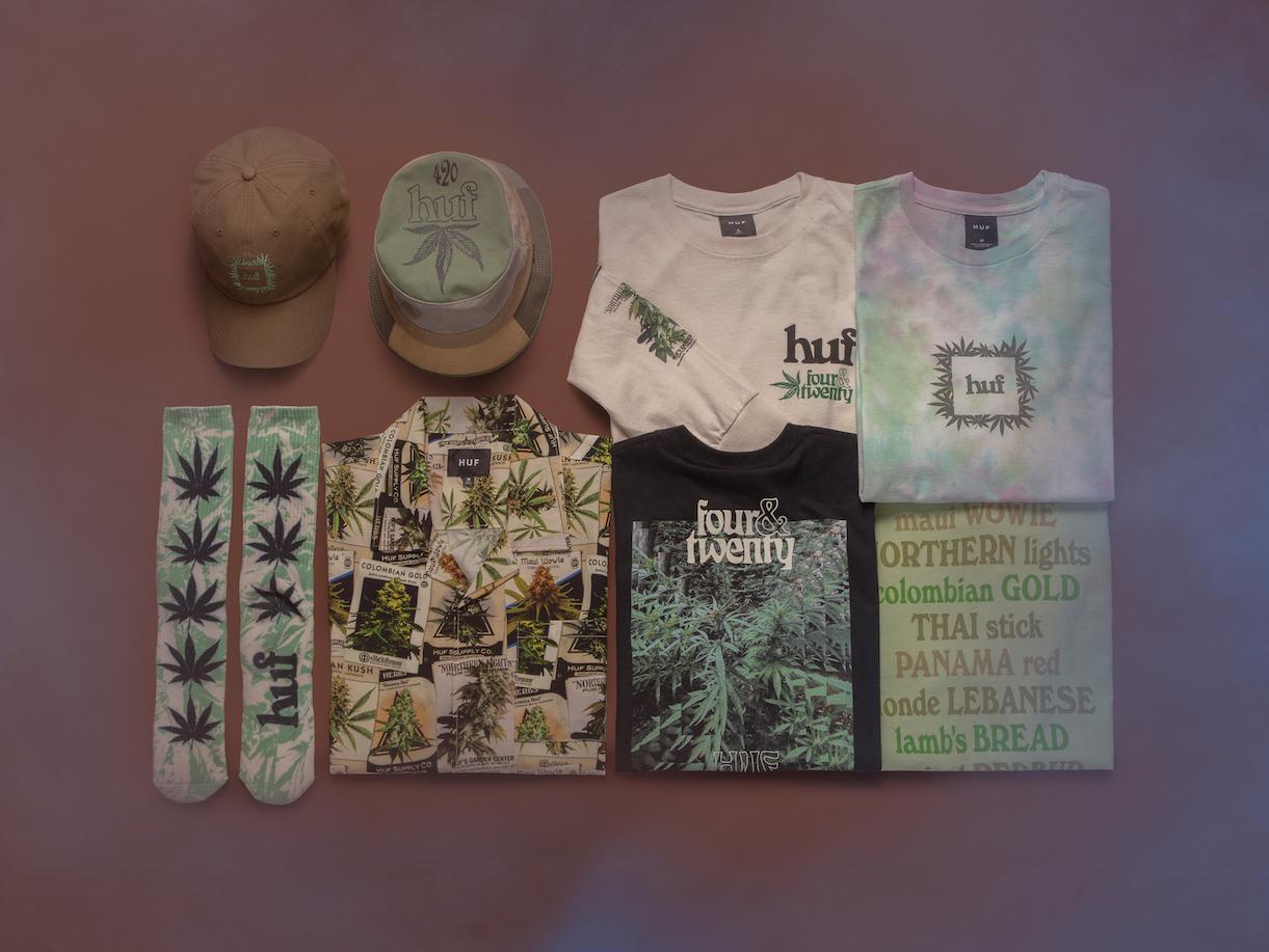 HUF、ヒッピーから着想「420カプセルコレクション」発売