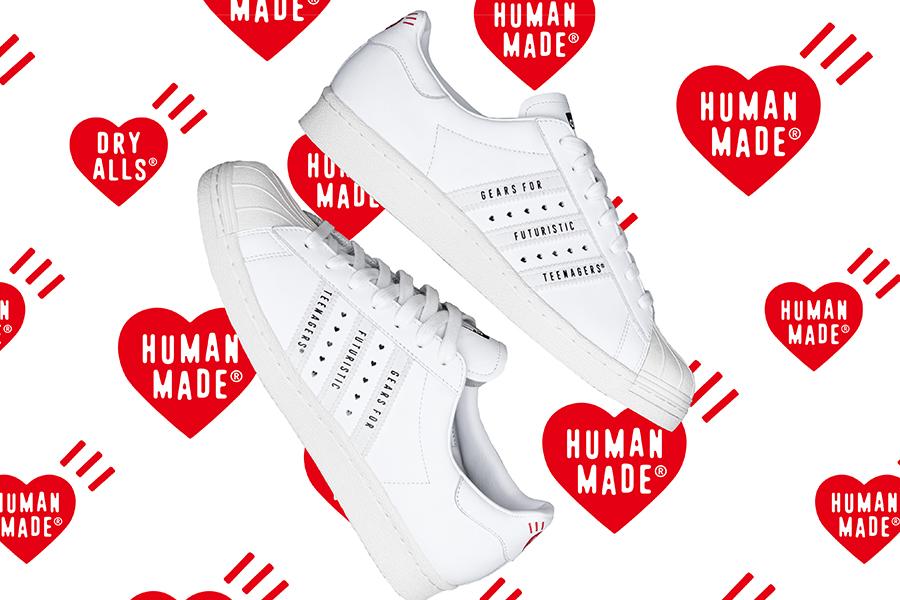 adidas Originals、NIGO®︎手がけるHUMAN MADE®︎とのコラボモデル発売
