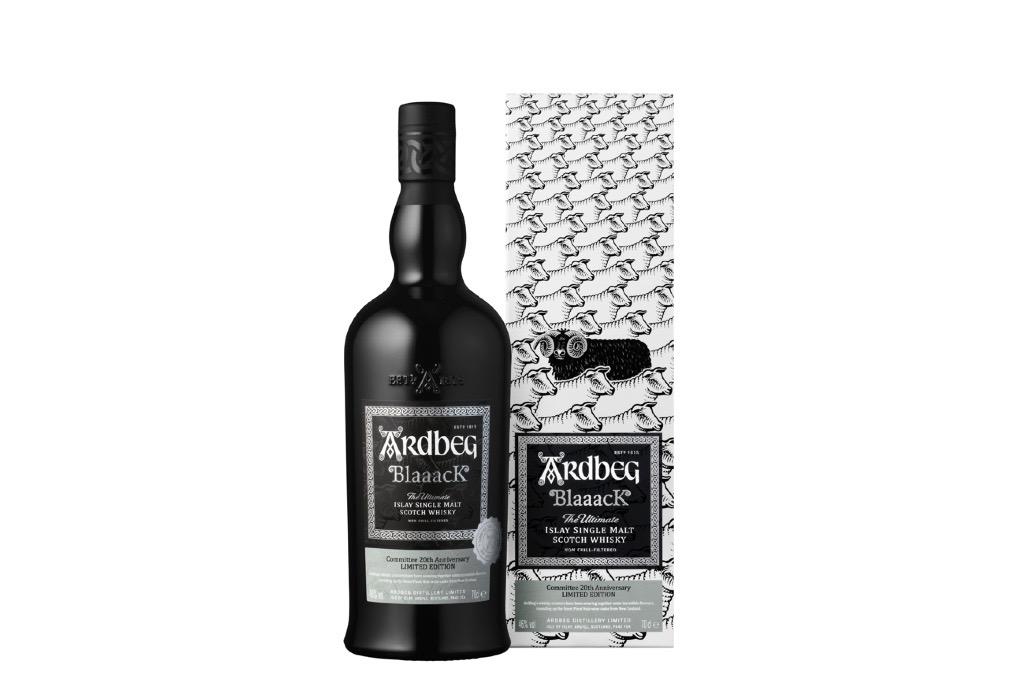 ARDBEG、ブラックボトルの数量限定品発売