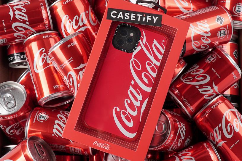 CASETiFY「コカ・コーラ」との初コラボアイテム発売