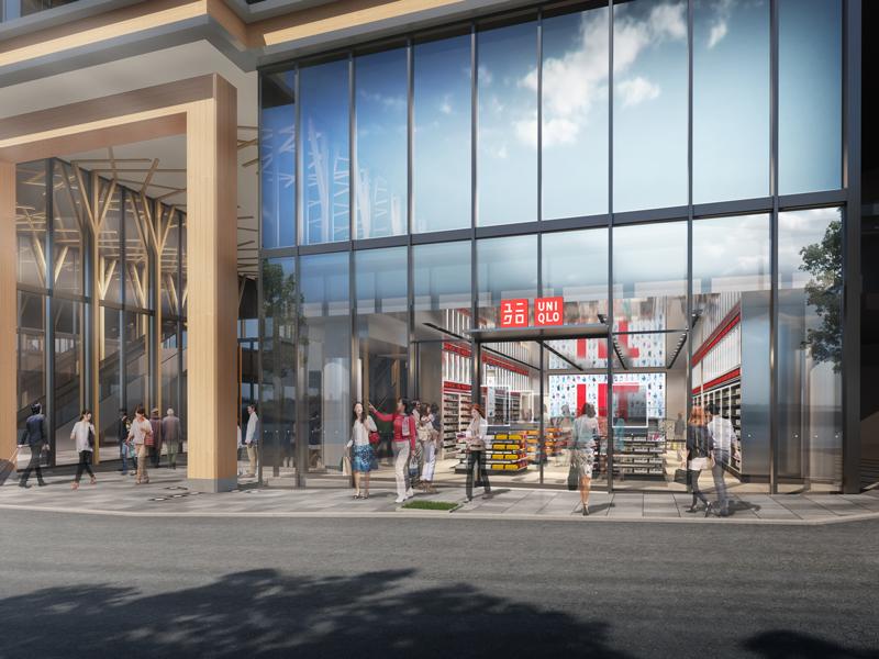UNIQLO、原宿駅前「WITH HARAJUKU」に新店舗オープン