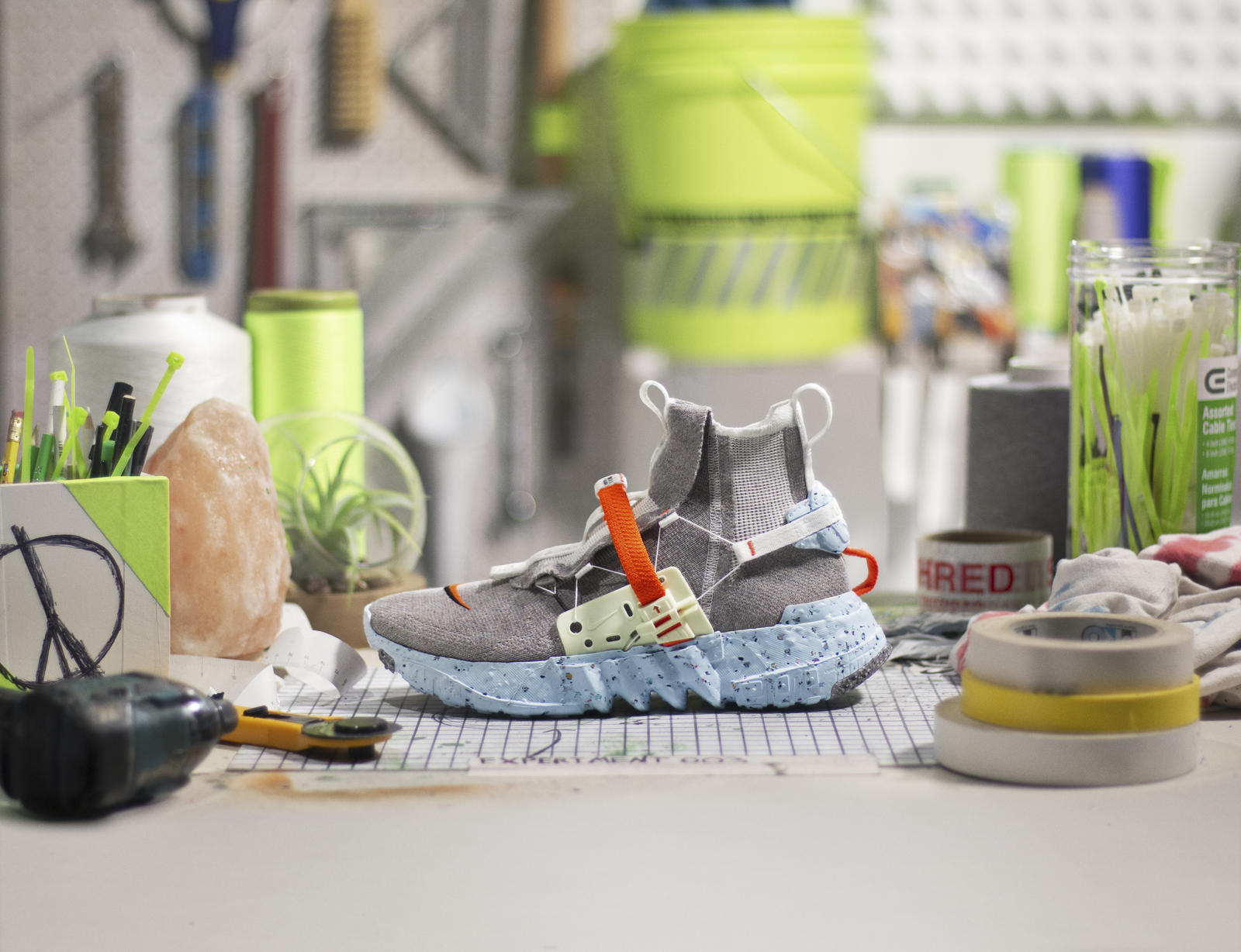 Nike、リサイクル素材を用いた新作フットウェアコレクション発売