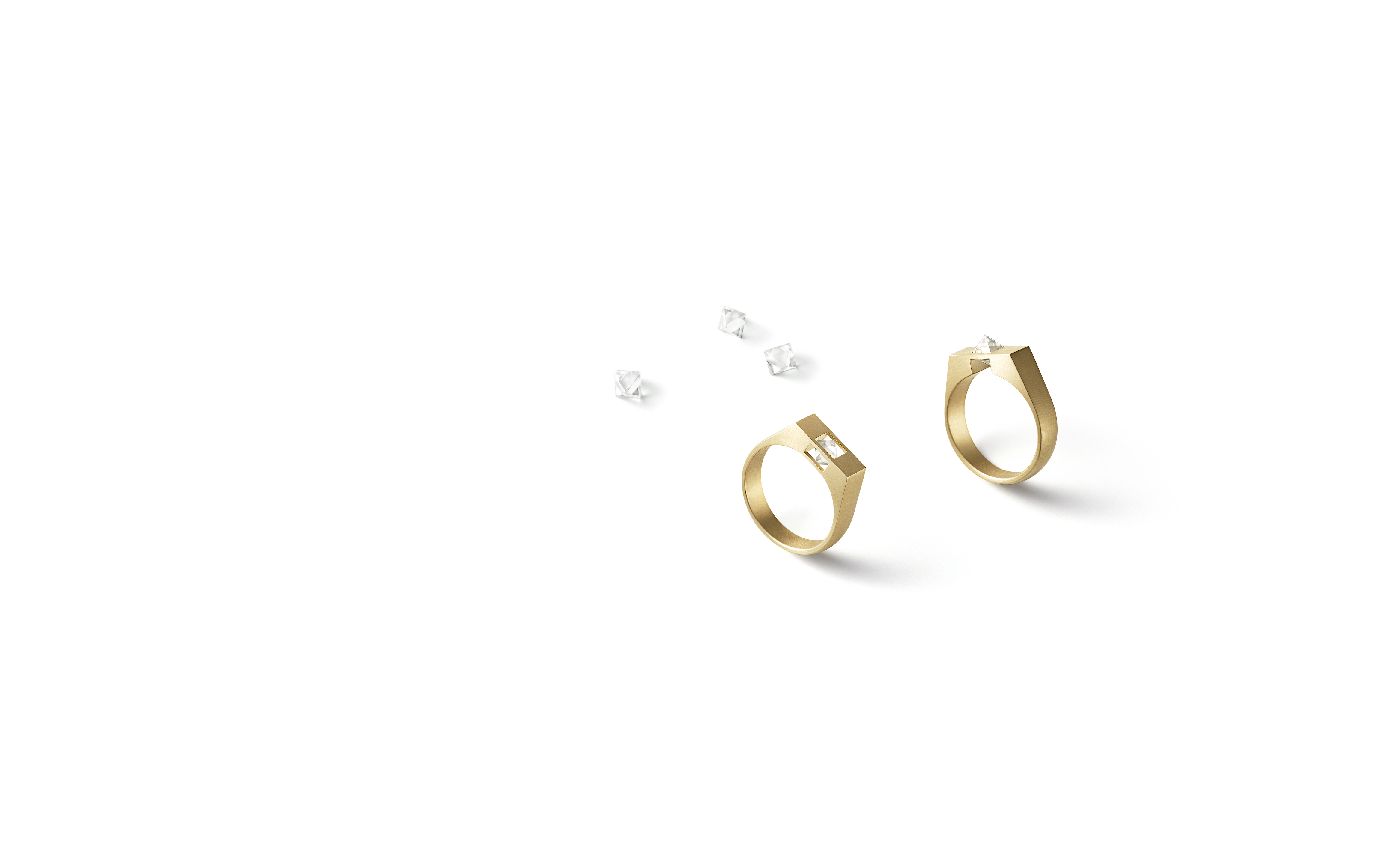 SHIHARA、ラフダイヤモンド使用「Un-Signet」コレクション発売