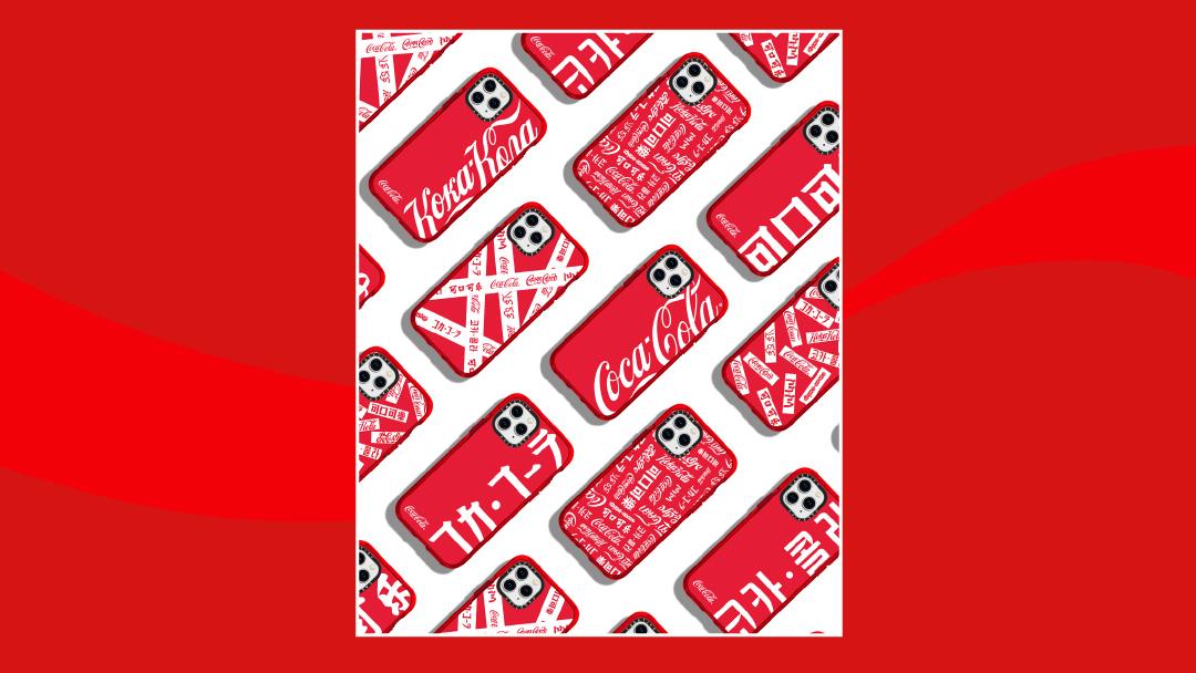 Coca-Cola×CASETiFY人気コラボアイテム、RESTIR国内独占販売