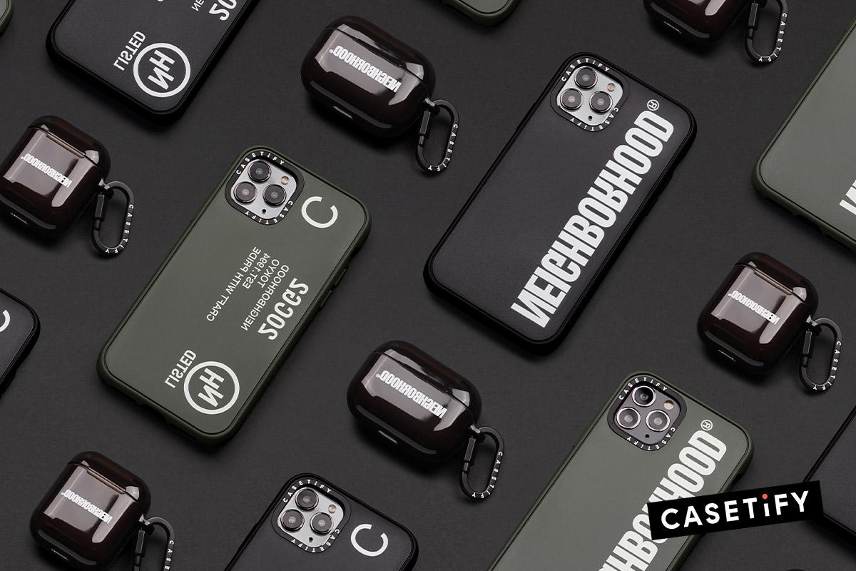CASETiFY、NEIGHBORHOODとのコラボアイテム発売