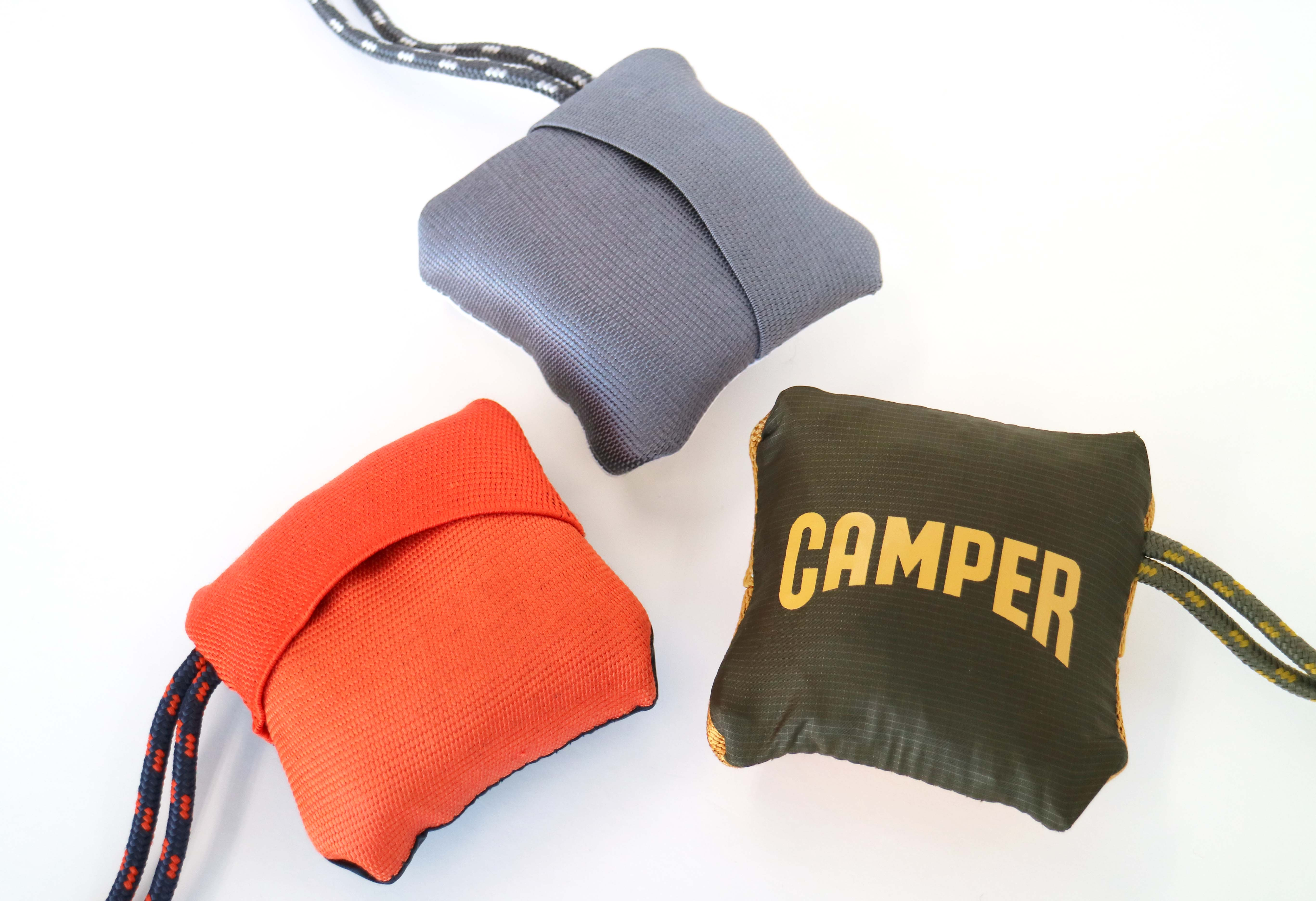 CAMPER、耐水ポケッタブルバッグ「Bom」発売