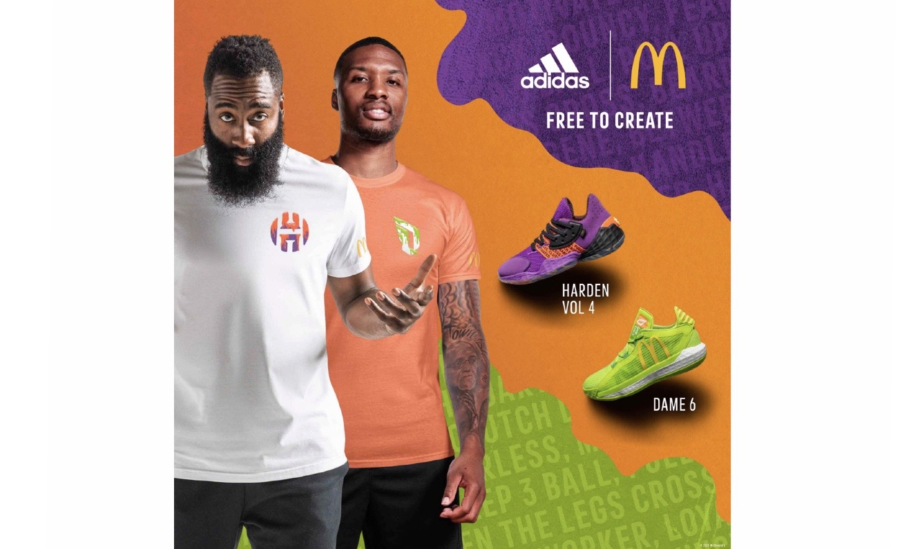 adidas×McDonald、NBA選手モデル新色発売