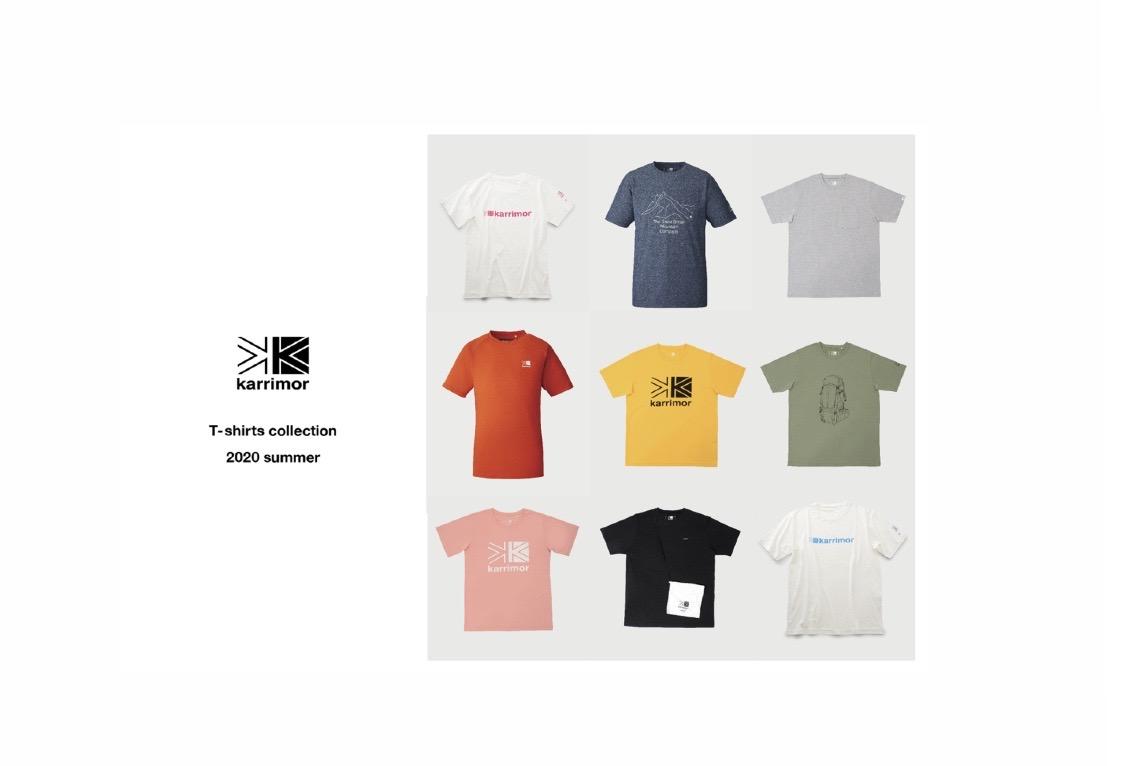 karrimor、高機能素材使用「T-shirts collection」登場