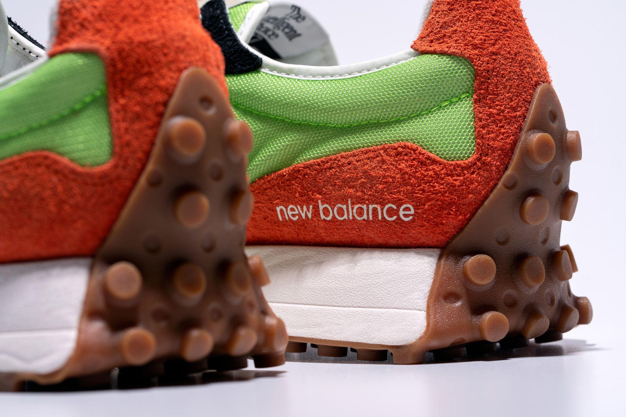 New Balance「327」、エネルギッシュな新色発売