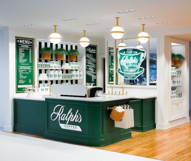 ラルフズ コーヒー併設POLO RALPH LAUREN、横浜エリア初出店