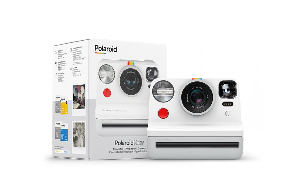 Polaroid、高性能レンズの新型カメラ「Polaroid Now」発売