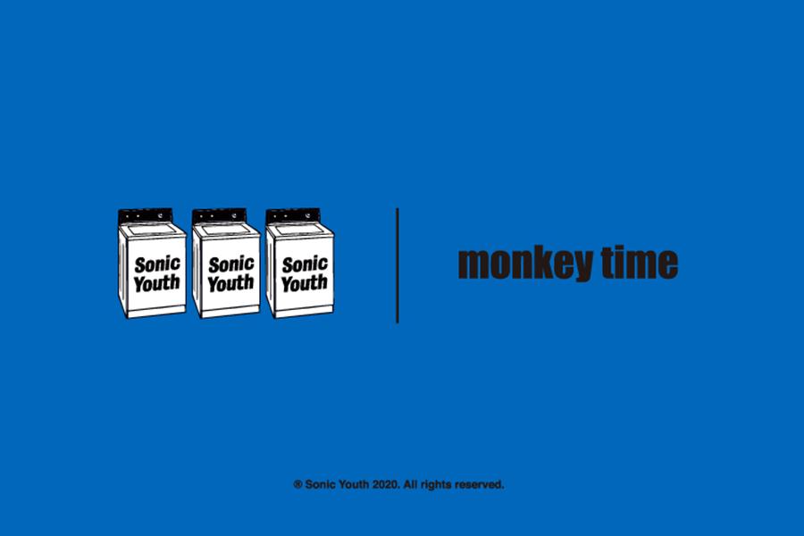 monkey time、NYバンドSONIC YOUTHオリジナルTシャツを発売