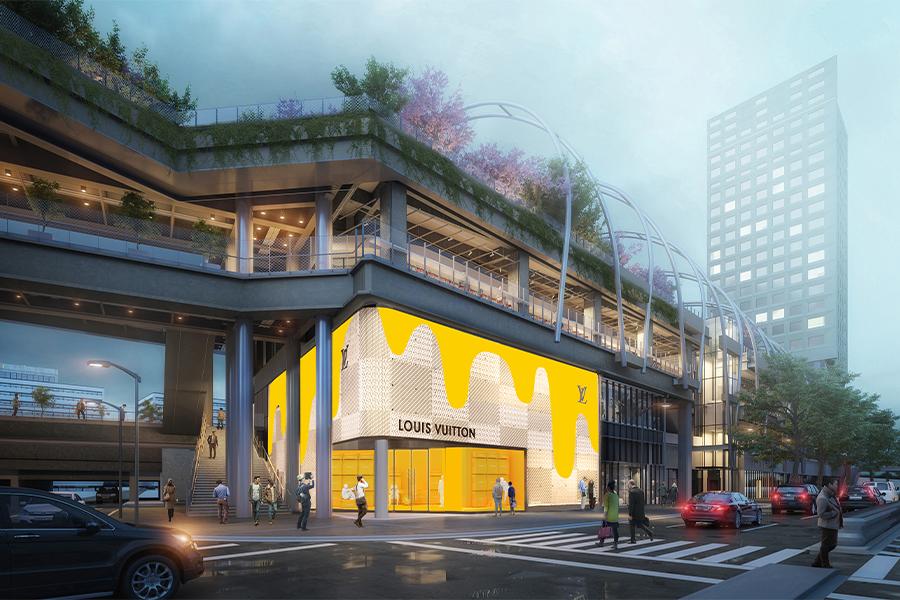 Louis Vuitton、MIYASHITA PARKに「Louis Vuitton 渋谷メンズ店」オープン