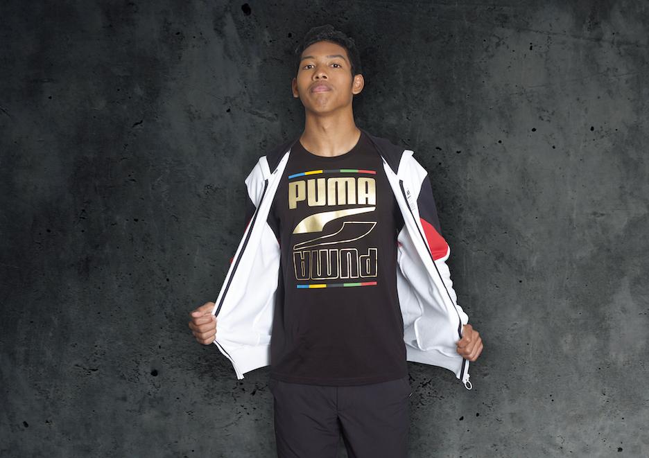 PUMA、サニブラウン選手着用の新コレクションREBEL発売