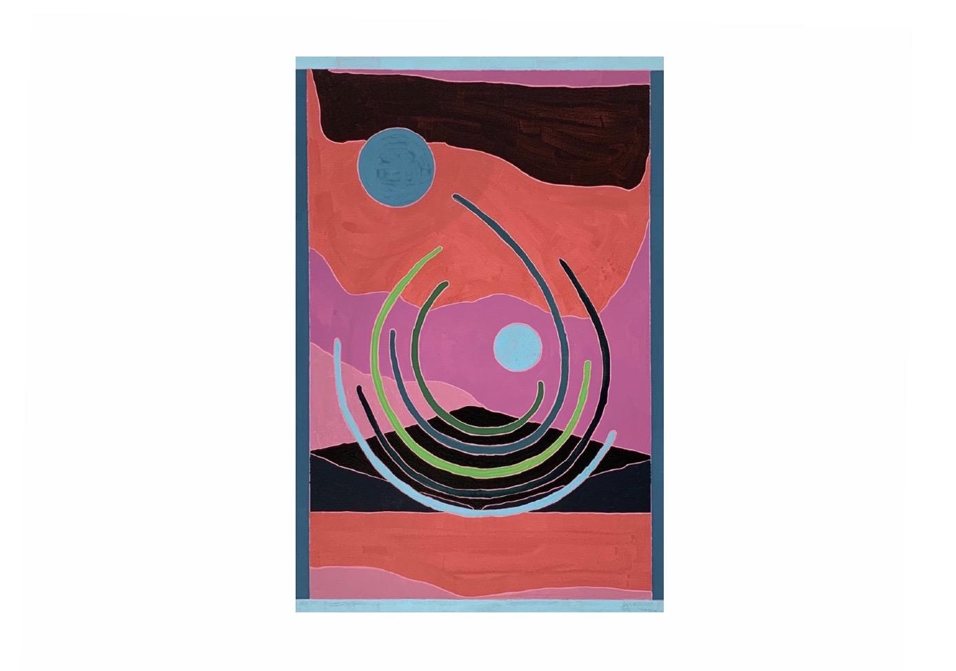 ラッセル・タイラーが描く抽象的な自然風景 KOKI ARTSで個展開催
