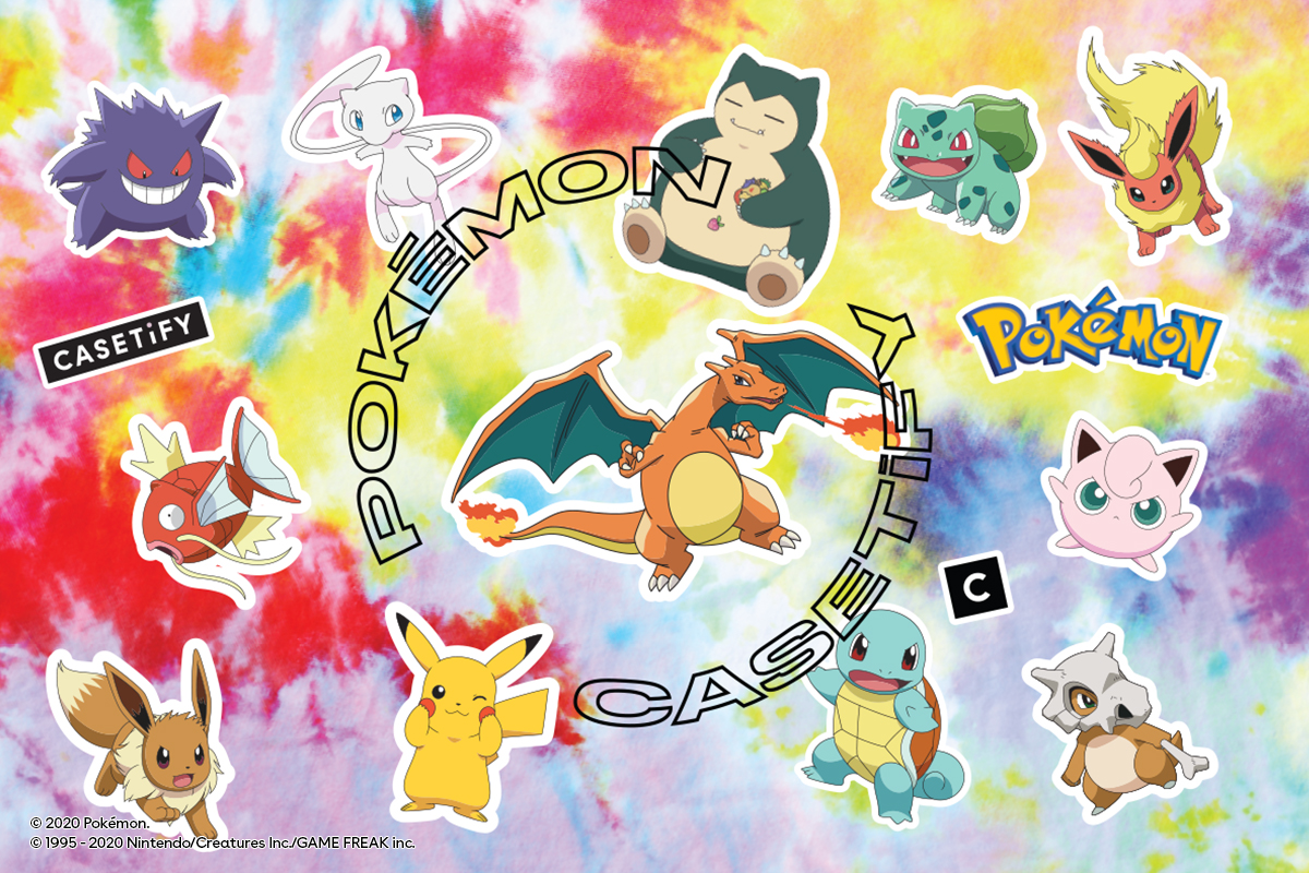 ポケモン誕生の90年代をテーマに「CASETiFY & Pokémon」第1弾発売