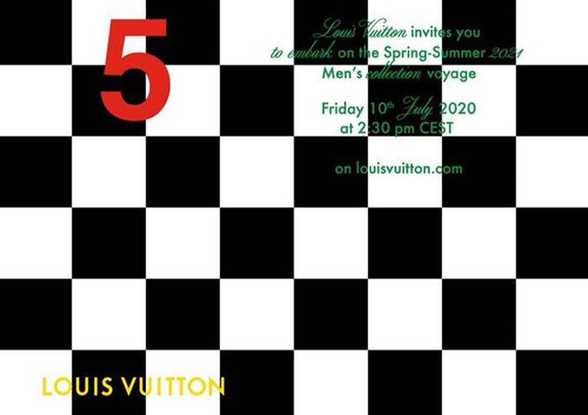 Louis Vuitton 2021年 メンズ 春夏コレクション ライブ配信で発表