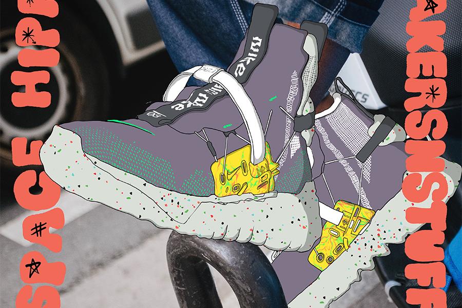 Nike史上最も少ないCO2排出量で製造したスニーカー、Sneakersnstuffで発売