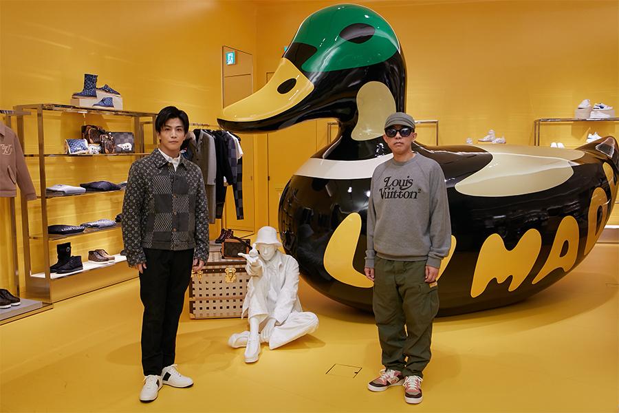Louis Vuitton、渋谷メンズ店オープンに先駆け岩田剛典とNIGO®︎来店